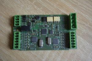 Верхняя сторона платы Wirenboard WB-MAP6S