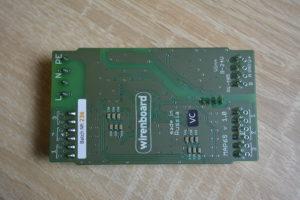 Обратная сторона платы Wirenboard WB-MAP6S